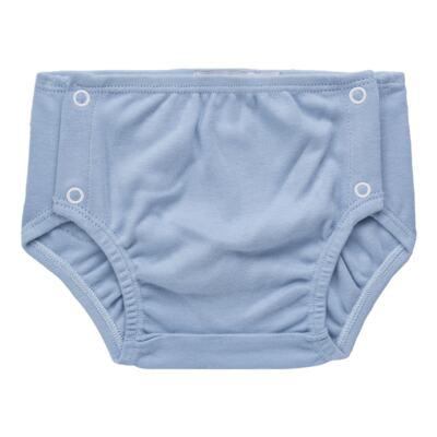 Imagem 4 do produto Body regata c/ Cobre Fralda para bebe em algodão egípcio Windsor - Roana - 02132024370 Body c/ Cueca Xadrez Azul -P