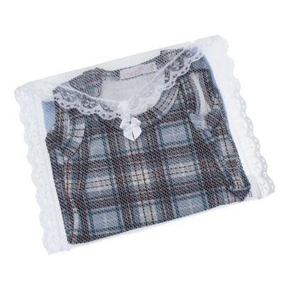 Imagem 5 do produto Body regata c/ Cobre Fralda para bebe em algodão egípcio Windsor - Roana - 02132024370 Body c/ Cueca Xadrez Azul -RN
