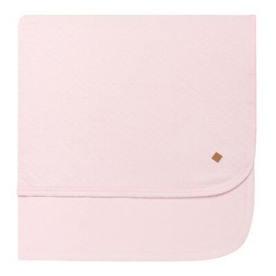 Imagem 3 do produto Jogo Maternidade com Macacão e Manta em viscomfort Ovelhinha Rosa - Petit - 47084344 JG. MAT. MACAC ML C/ GOLA MATELASSE OVELHA FEM -P