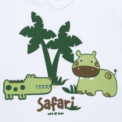 Imagem 3 do produto Pijama curto em malha Safari - Cara de Sono