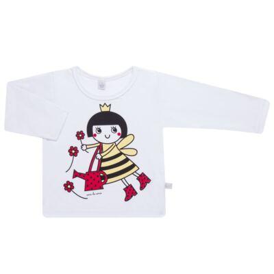 Imagem 2 do produto Pijama longo em malha Abelhinha - Cara de Sono - L2434 ABELINHA L PG-LONGO M/MALHA-3
