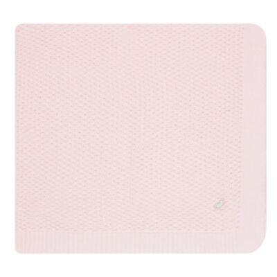 Imagem 8 do produto Jogo Maternidade com Macacão Body e Manta em tricot Rose - Petit - 47004421 Jogo Maternidade c/ Body Regata Tricot/Cot/Fu Rosa -RN