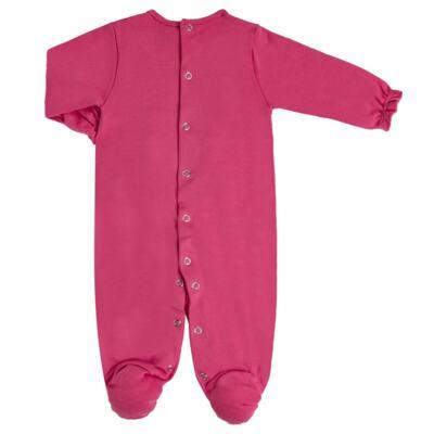 Imagem 5 do produto Jogo Maternidade com Macacão e Manta para bebe em algodão egípcio c/ jato de cerâmica Papillon - Mini & Classic - 4716658 JOGO MATERNIDADE MAC ML DET RENDA SUEDINE FLORAL NAVY-P