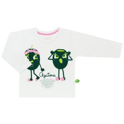 Imagem 2 do produto Pijama longo que Brilha no Escuro Azeitoninha - Cara de Criança - L1638 AZEITONA L PJ-LONGO M/MALHA-3