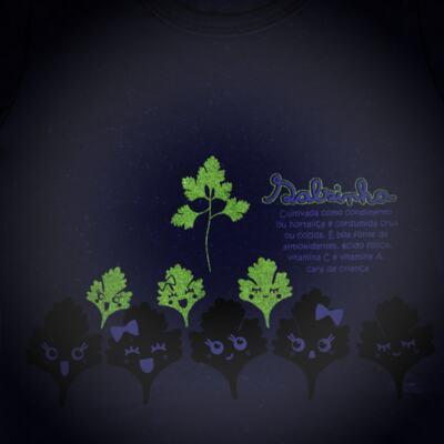 Imagem 4 do produto Pijama longo que Brilha no Escuro Salsinha - Cara de Criança - L1913 SALSINHA L PJ-LONGO M/MALHA-2