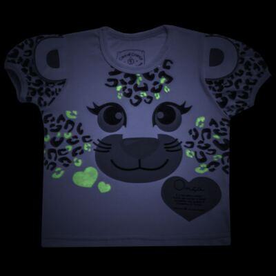 Imagem 4 do produto Pijama longo que Brilha no Escuro Oncinha - Cara de Criança - L1820 ONCA PINTADA L PJ-LONGO M/MALHA-2