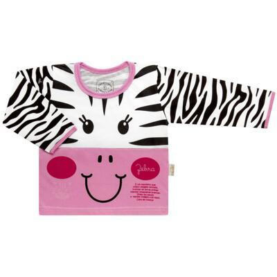 Imagem 2 do produto Pijama longo que Brilha no Escuro Zebrinha - Cara de Criança - L1646 ZEBRA L PJ-LONGO M/MALHA -1