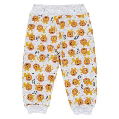 Imagem 6 do produto Pijama 4 botões que Brilha no Escuro Lion - Cara de Criança - 4L1943 REI LEAO 4L PJ 4 BOTOES - LONGO M/MALHA-G