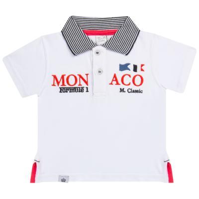 Imagem 1 do produto Camiseta polo em cotton Racing - Mini & Classic - 6012668 CAMISETA POLO M/C COTTON GRAND PRIX-M