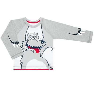 Imagem 1 do produto Camiseta em malha Lobo Mau - CDC T-shirt