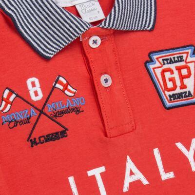 Imagem 2 do produto Camiseta Polo em cotton Race - Mini & Classic