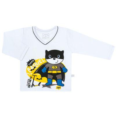 Imagem 2 do produto Pijama que Brilha no escuro BatBiel - Cara de Criança - L2378 BATBIEL L PJ-LONGO M/MALHA -3