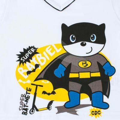 Imagem 3 do produto Pijama que Brilha no escuro BatBiel - Cara de Criança - L2378 BATBIEL L PJ-LONGO M/MALHA -6