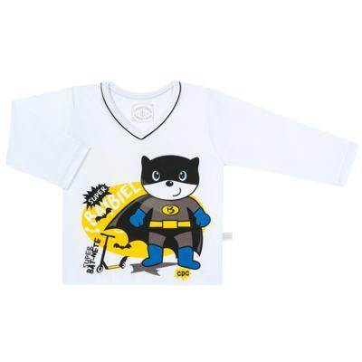 Imagem 2 do produto Pijama que Brilha no escuro BatBiel - Cara de Criança - L2378 BATBIEL L PJ-LONGO M/MALHA -2