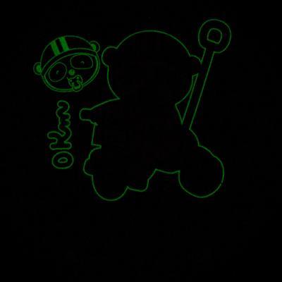 Imagem 5 do produto Pijama 4 botões que Brilha no Escuro Biel Bike - Cara de Criança - 4L2338 BIEL BIKE 4L PJ 4 BOTOES-LONGO M/MALHA-P