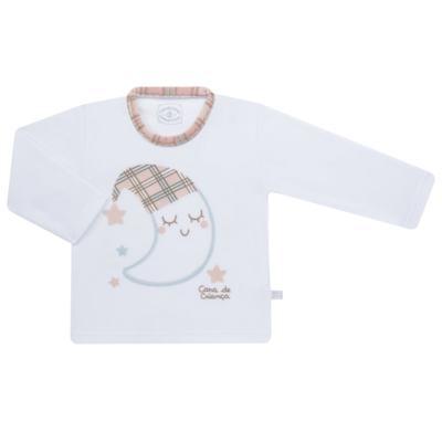 Imagem 2 do produto Pijama longo que Brilha no Escuro em soft Sleepy Moon - Cara de Criança - S2368 LUA S PIJAMA-SOFT SOFT-3