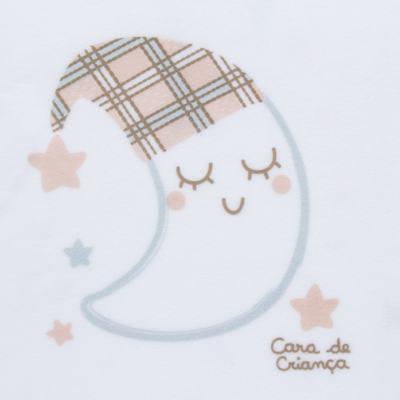Imagem 3 do produto Pijama longo que Brilha no Escuro em soft Sleepy Moon - Cara de Criança - S2368 LUA S PIJAMA-SOFT SOFT-6