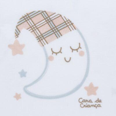 Imagem 3 do produto Pijama longo que Brilha no Escuro em soft Sleepy Moon - Cara de Criança - S2368 LUA S PIJAMA-SOFT SOFT-4
