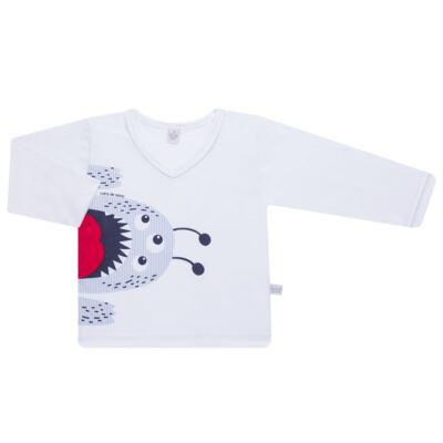 Imagem 2 do produto Pijama longo em malha Monstrinho - Cara de Sono - L2452 MONSTRINHO L PJ-LONGO M/MALHA-2