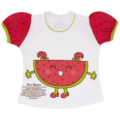 Imagem 2 do produto Pijama Curto que Brilha no Escuro Melancia - Cara de Criança - U0686 PIJAMA CURTO QUE BRILHA NO ESCURO MELANCIA-4
