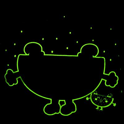 Imagem 5 do produto Pijama Curto que Brilha no Escuro Melancia - Cara de Criança - U0686 PIJAMA CURTO QUE BRILHA NO ESCURO MELANCIA-4