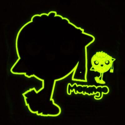 Imagem 4 do produto Pijama longo que Brilha no Escuro Moranguinho - Cara de Criança - L1635 MORANGO L PJ-LONGO M/MALHA-4