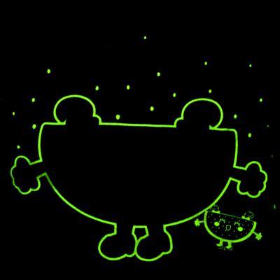 Imagem 5 do produto Pijama Curto que Brilha no Escuro Melancia - Cara de Criança - U0686 PIJAMA CURTO QUE BRILHA NO ESCURO MELANCIA-6