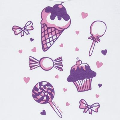 Imagem 3 do produto Pijama curto com Shorts em malha Candy - Cara de Sono - U1998 GULOSEIMAS U PIJAMA-CURTO M/MALHA -3