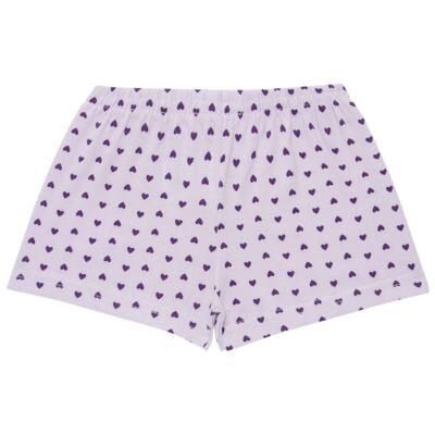 Imagem 4 do produto Pijama curto com Shorts em malha Candy - Cara de Sono - U1998 GULOSEIMAS U PIJAMA-CURTO M/MALHA -3