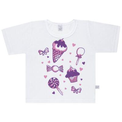 Imagem 2 do produto Pijama curto com Shorts em malha Candy - Cara de Sono - U1998 GULOSEIMAS U PIJAMA-CURTO M/MALHA -4