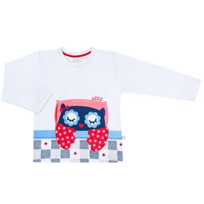 Imagem 2 do produto Pijama longo que Brilha no escuro Coruja - Cara de Criança - L2394 CORUJA L PJ-LONGO M/MALHA-6