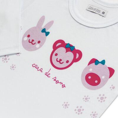 Imagem 4 do produto Pijama longo em malha Bichinhos - Cara de Sono - L1743 ANIMAIS FEM. L PJ-LONGO M/MALHA-2