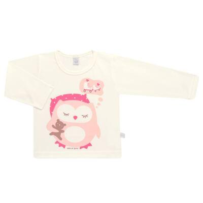Imagem 2 do produto Pijama longo em malha Corujita - Cara de Sono - L2437 CORUJA L PG-LONGO M/MALHA-1