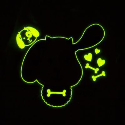 Imagem 4 do produto Pijama 4 botões que Brilha no Escuro Cachorrinha - Cara de Criança - 4L1671-CACHORRINHA 4L PJ 4 BOTOES-LONGO M/MALHA-G