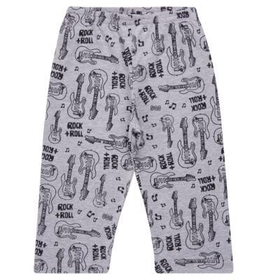 Imagem 4 do produto Pijama longo em malha Rockn´ Roll - Cara de Sono - L2466 ROCK+ROLL L PG-LONGO M/MALHA-4