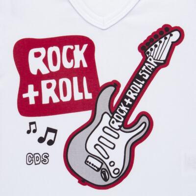 Imagem 3 do produto Pijama longo em malha Rockn´ Roll - Cara de Sono - L2466 ROCK+ROLL L PG-LONGO M/MALHA-2
