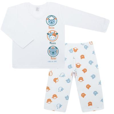 Imagem 1 do produto Pijama longo em malha Bichinhos - Cara de Sono - L1733-ANIMAIS MASC L PJ-LONGO M/MALHA-4