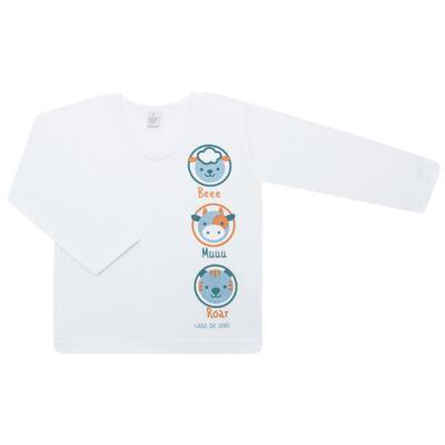 Imagem 2 do produto Pijama longo em malha Bichinhos - Cara de Sono - L1733-ANIMAIS MASC L PJ-LONGO M/MALHA-4