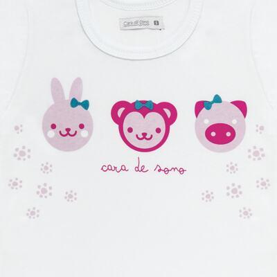 Imagem 3 do produto Pijama longo em malha Bichinhos - Cara de Sono - L1743 ANIMAIS FEM. L PJ-LONGO M/MALHA-3