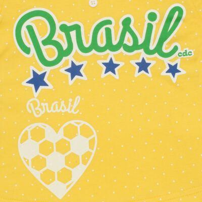 Imagem 3 do produto Pijama longo que Brilha no Escuro Brasil - Cara de Criança - L1112 Pijama longo que Brilha no Escuro Brasil-1