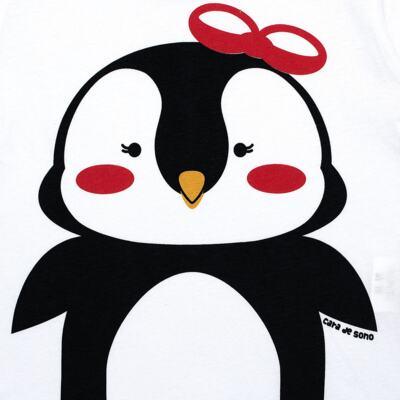 Imagem 3 do produto Pijama longo c/ Capri Pinguinha - Cara de Sono - L1729 PINGUINHA L PJ-LONGO M/MALHA-4