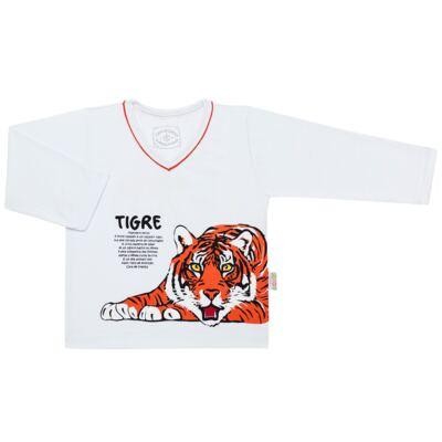 Imagem 2 do produto Pijama longo que Brilha no escuro Tigre - Cara de Criança - L2357 TIGRE L PJ-LONGO M/MALHA -4