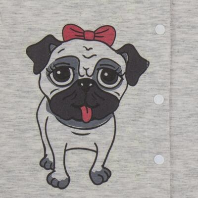 Imagem 4 do produto Pijama que Brilha no Escuro Pug - Cara de Criança - L0553 PIJAMA QUE BRILHA NO ESCURO PUG-3