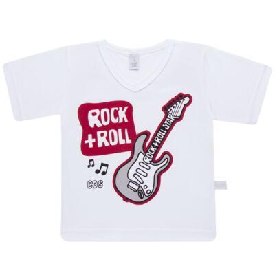 Imagem 2 do produto Pijama curto em malha Rockn´ Roll - Cara de Sono - U2466 ROCK+ROLL U PIJAMA-CURTO M/MALHA -3