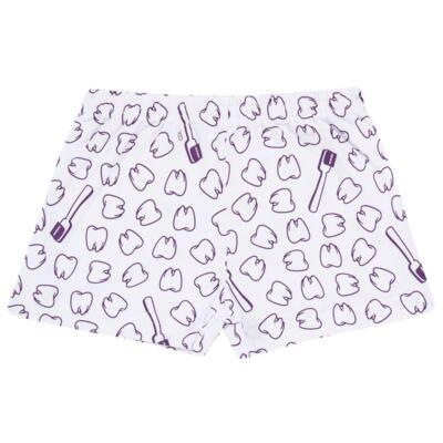 Imagem 5 do produto Pijama curto que Brilha no Escuro Dentinha - Cara de Criança - U2881 TIME SORRISO FEM U PIJAMA CURTO M/MALHA-1