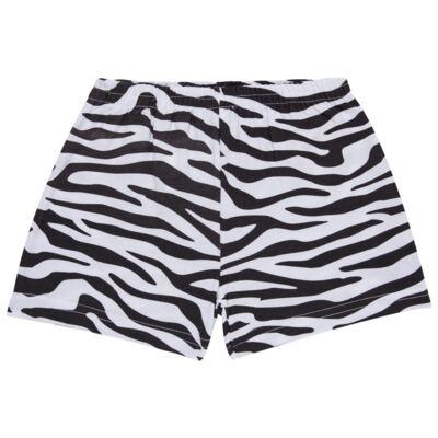 Imagem 6 do produto Pijama curto que Brilha no Escuro Tigre Branco - Cara de Criança - U2283 TIGRE BRANCO U PIJAMA CURTO M/MALHA-3