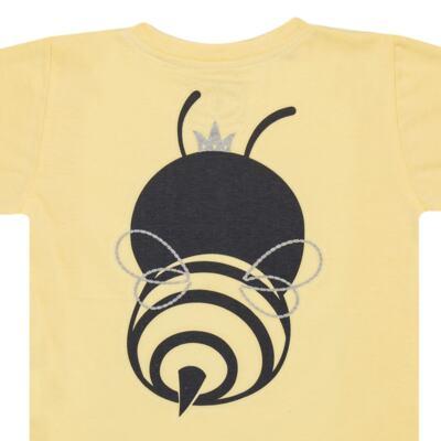 Imagem 6 do produto Pijama curto que Brilha no Escuro Little Bee - Cara de Criança - U2278 ABELHA PIJAMA-CURTO M/MALHA -1