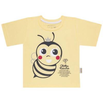 Imagem 2 do produto Pijama curto que Brilha no Escuro Little Bee - Cara de Criança - U2278 ABELHA PIJAMA-CURTO M/MALHA -3