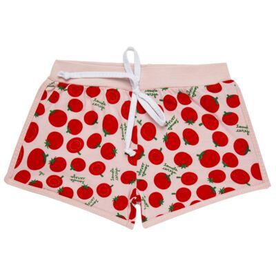 Imagem 6 do produto Pijama Regata que Brilha no Escuro Tomatinho Cereja - Cara de Criança - R2277 TOMATE CEREJA R PJ REGATA COTTON -3