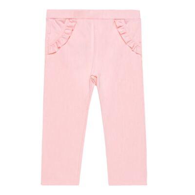 Imagem 1 do produto Legging babadinhos para bebe em fleece Rose - Petit